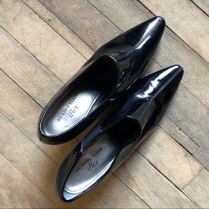 Anne Klein Iflex Patent Leather Booties - Z23
